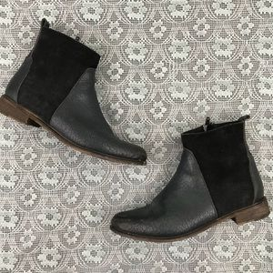 Farylrobin x Free People Robby Navy Ankle Boots